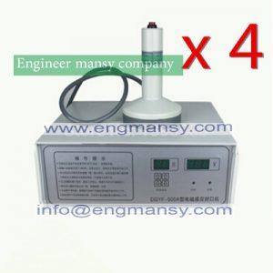 Tic induction bottle sealing machine
